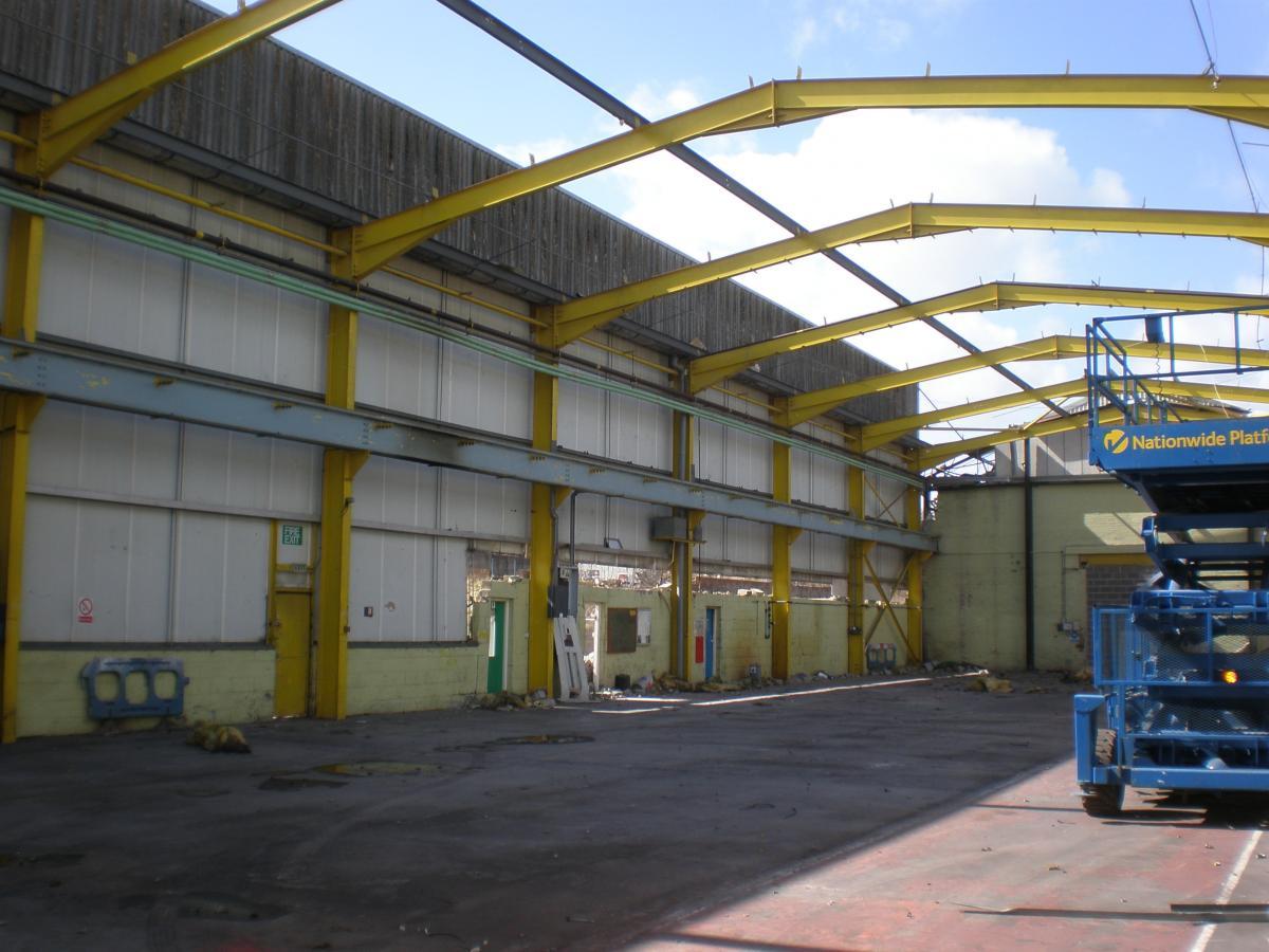 Used Steel Framed Buildings : Ft m used steel